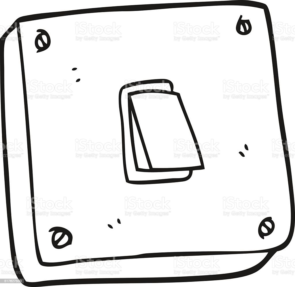 Black and white cartoon light switch stock vector art 517627530 bizarre book clip art coloring coloring book black and white cartoon light switch sciox Gallery
