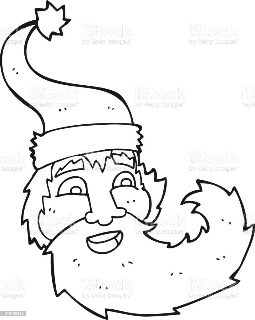 Immagini Di Babbo Natale In Bianco E Nero.Bianco E Nero Fumetto Di Babbo Natale Ridendo Immagini