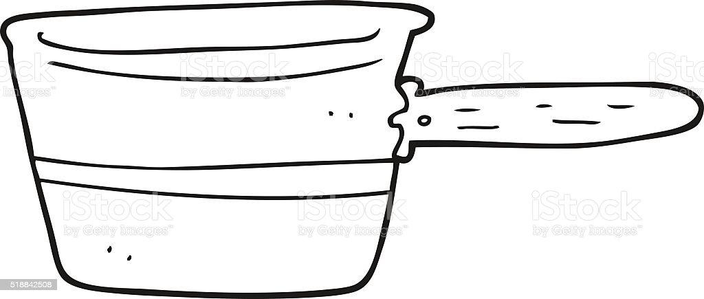 Vetores De Preto E Branco Desenho De Panela E Mais Imagens De