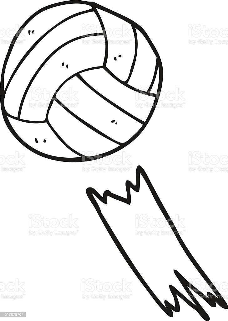 Noir Et Blanc Dessin Animé Ballon De Football Vecteurs Libres De