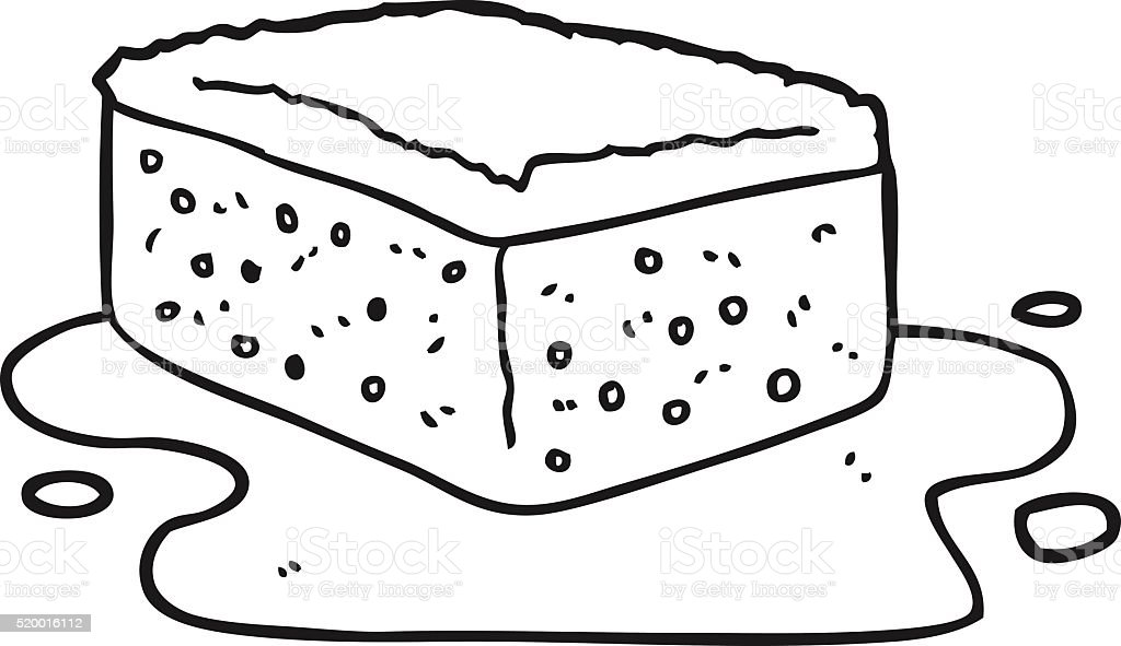 Ponge de dessin anim noir et blanc vecteurs libres de droits et plus d 39 images de bizarre - Dessin eponge ...