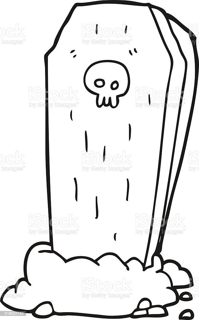 cercueil a dessiner