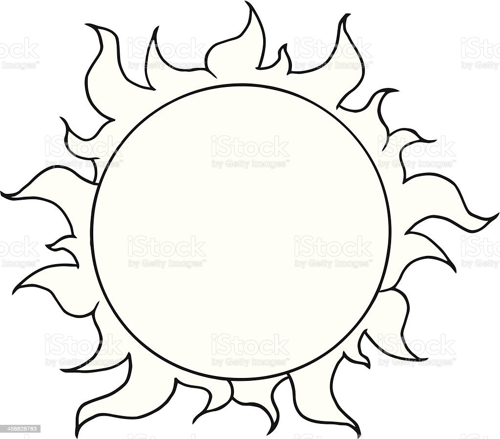 royalty free sun clipart clip art vector images illustrations rh istockphoto com black and white sun outline clip art clipart black and white sunglasses