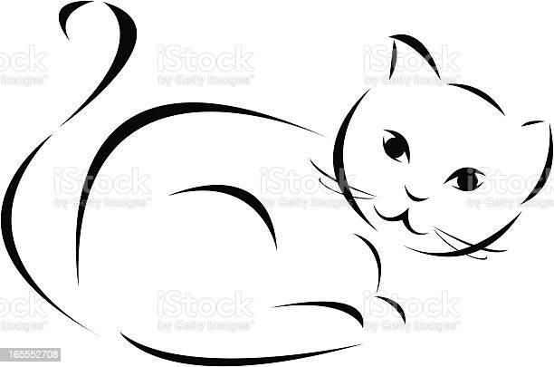 Black and white cat vector id165552708?b=1&k=6&m=165552708&s=612x612&h=ez hxh89pgifw6aiipmzaanvesehtvchieo7n jyo74=