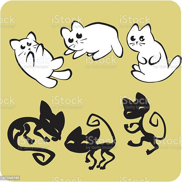 Black and white cats vector set vector id472346193?b=1&k=6&m=472346193&s=612x612&h=v2rjin9sg70pppswoltf8upl6mg8o3hviyq64wfvuuu=