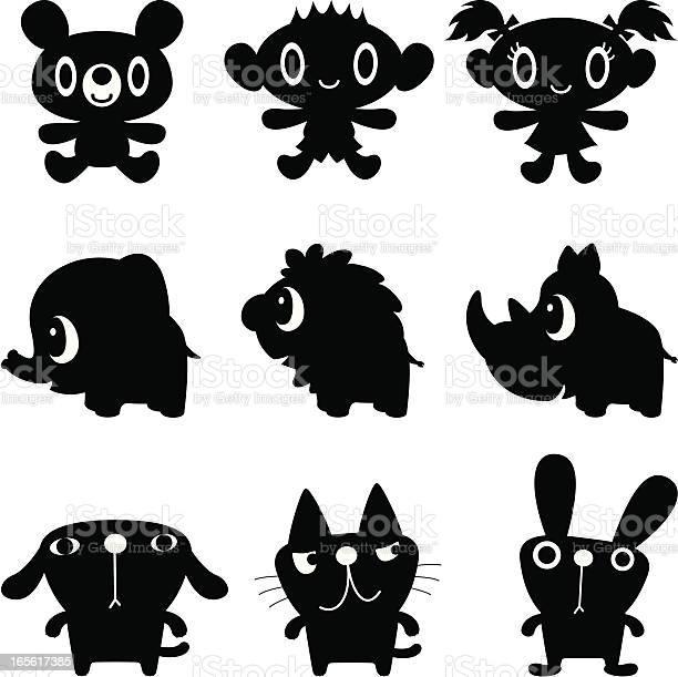 Black and white characters vector id165617385?b=1&k=6&m=165617385&s=612x612&h=q awuh eevs 8lkq9lgnhbndx8 s4ddnzfimq5eigdg=