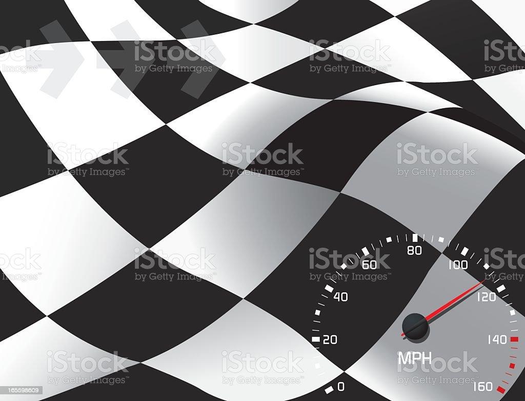 Fondo de carreras ilustración de fondo de carreras y más banco de imágenes de bandera de cuadros libre de derechos