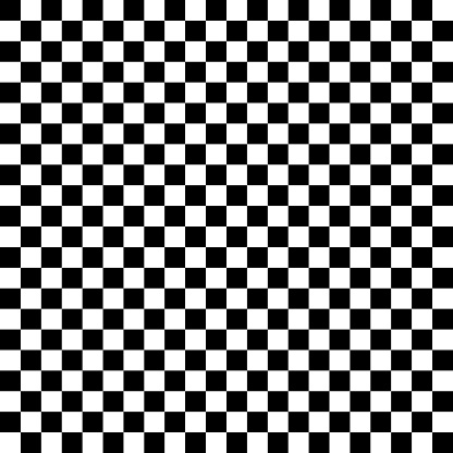 Black And White Checkered Seamless Pattern