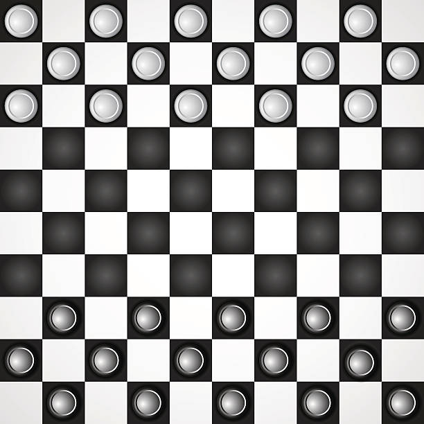 Royalty Free Checkers Game Clip Art, Vector Images & Illustrations ...