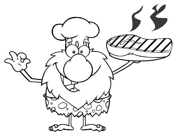 Best Cartoon Steak Pictures Illustrations, Royalty-Free ... (612 x 470 Pixel)