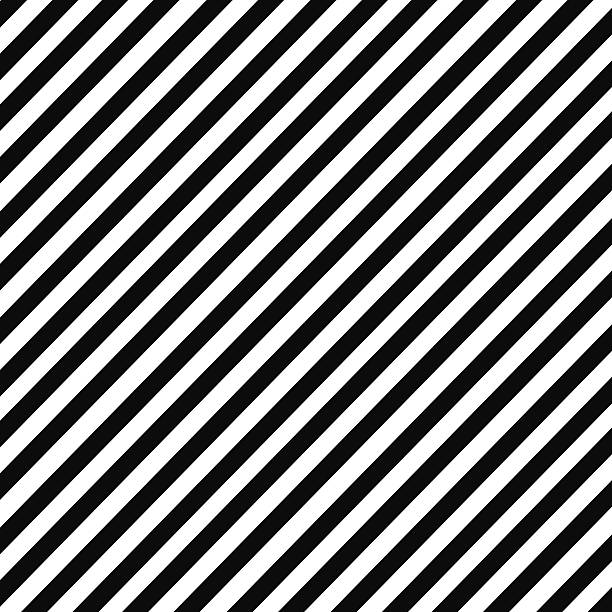 Black and white diagonal stripe pattern Black and white diagonal stripe pattern diagonal stock illustrations