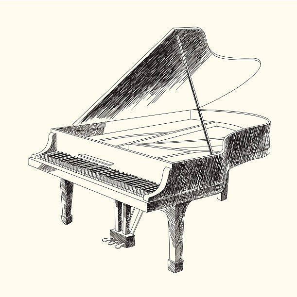 Best Grand Piano Illustrations, Royalty-Free Vector Graphics & Clip Art - iStock