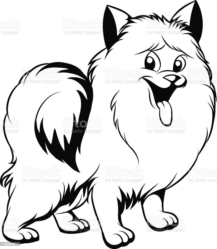 Disegno Cane Bianco E Nero.Disegno Bianco E Nero Di Cane Immagini Vettoriali Stock E Altre