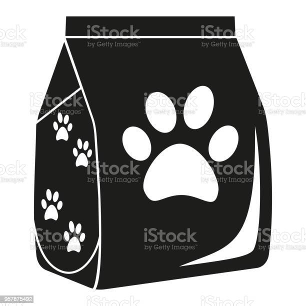 Black and white dry cat food bag silhouette vector id957875492?b=1&k=6&m=957875492&s=612x612&h=attnnr717alt2xyikfm2xgf5x6v6co7ts408nodrlyy=