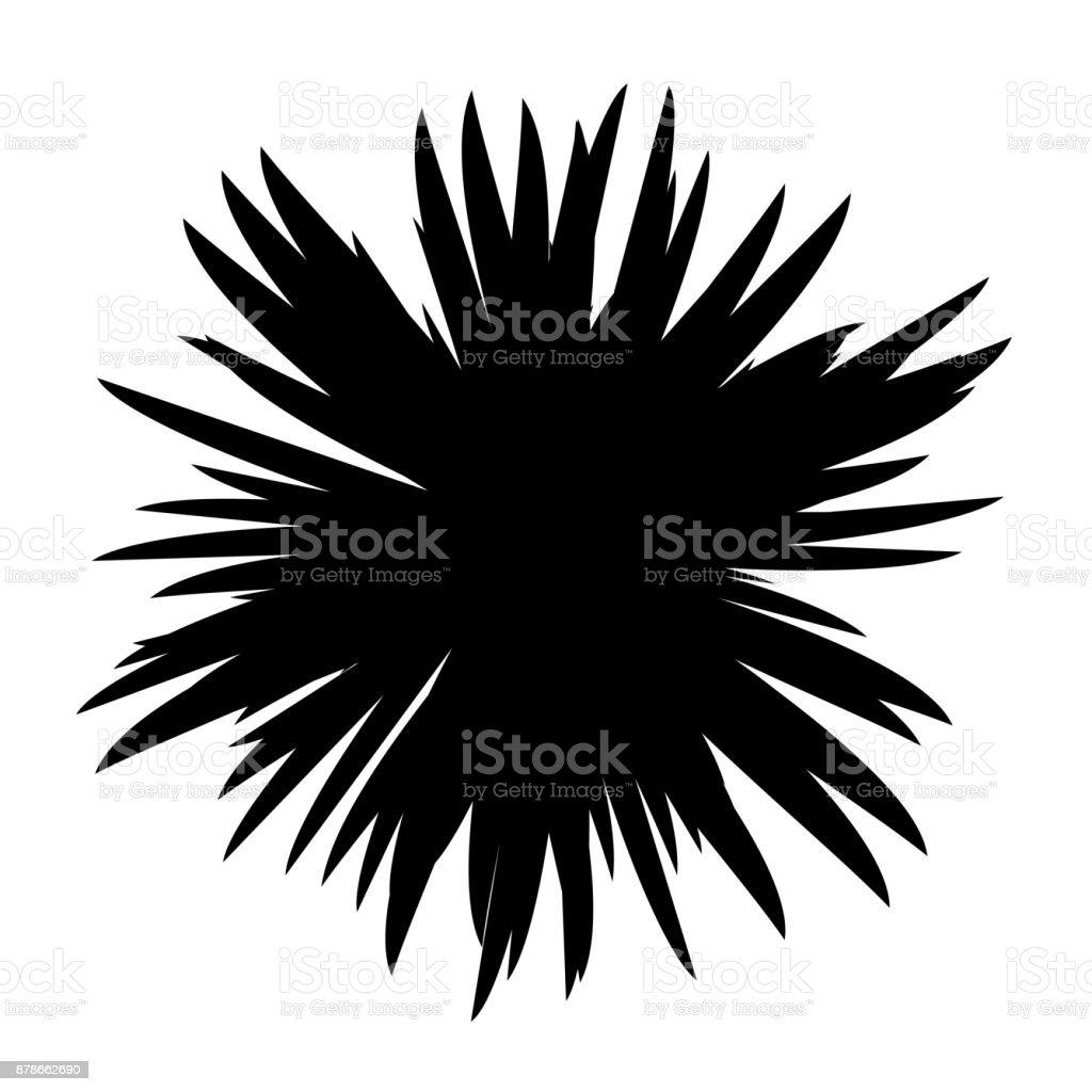 schwarz wei blumen silhouette stock vektor art und mehr bilder von baumbl te 878662690 istock. Black Bedroom Furniture Sets. Home Design Ideas