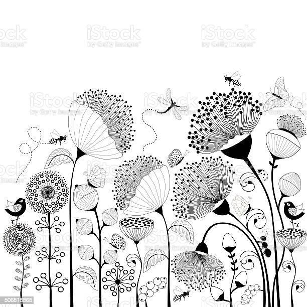 Black and white flowers vector id506818868?b=1&k=6&m=506818868&s=612x612&h=glx88yaxyczr0alhjptpupwyfkux0a1anjpgnye2kvg=