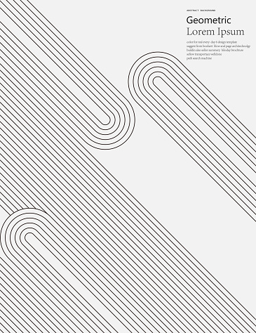 black and white geometric style line pattern background