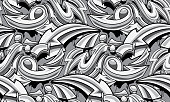 decorative vector seamless pattern