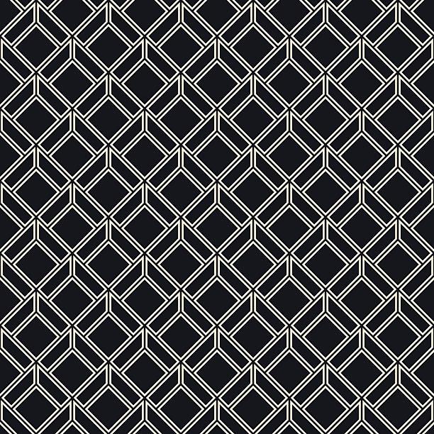 schwarz und weiß mit gittermuster - rankgitter stock-grafiken, -clipart, -cartoons und -symbole