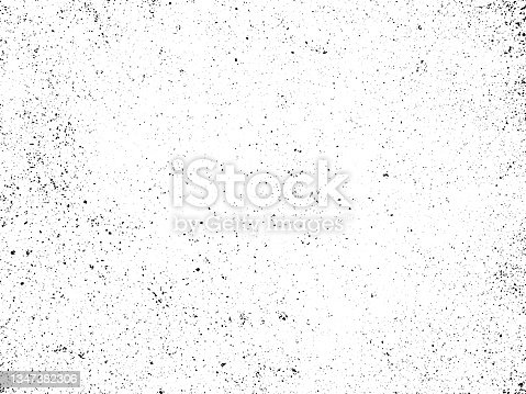 istock Black and white grunge. Distress overlay texture. Abstract surface dust and rough dirty wall background concept. 1347382306