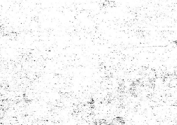 ilustrações, clipart, desenhos animados e ícones de vetores urbanos pretos e brancos da textura do grunge com espaço da cópia. pó de superfície abstrato da ilustração e fundo sujo áspero da parede com molde vazio. conceito da aflição ou da sujeira e do efeito da dano - vetor - grunge