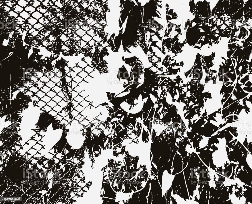 Black And White Grunge Vector Texture Abstract Background Effect Of