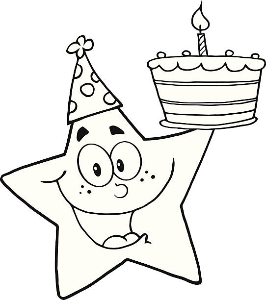 269 Birthday Clipart Black And White Illustrations Royalty Free Vector Graphics Clip Art Istock