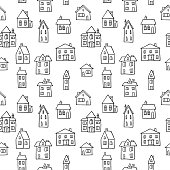 Black and white homes