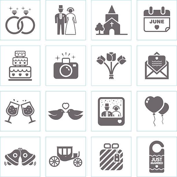 hochzeit symbole - kirchenring stock-grafiken, -clipart, -cartoons und -symbole