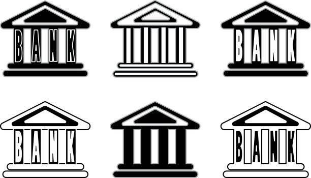 schwarze und weiße symbole - kanzlerin stock-grafiken, -clipart, -cartoons und -symbole