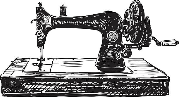 Best Sewing Machine Illustrations, Royalty-Free Vector ...