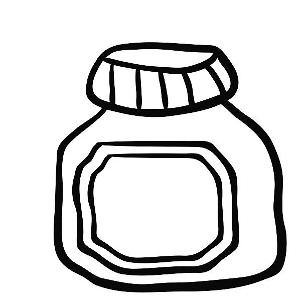Royalty Free Making Jam Clip Art, Vector Images ...