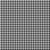 Black and white lumberjack seamless background pattern.