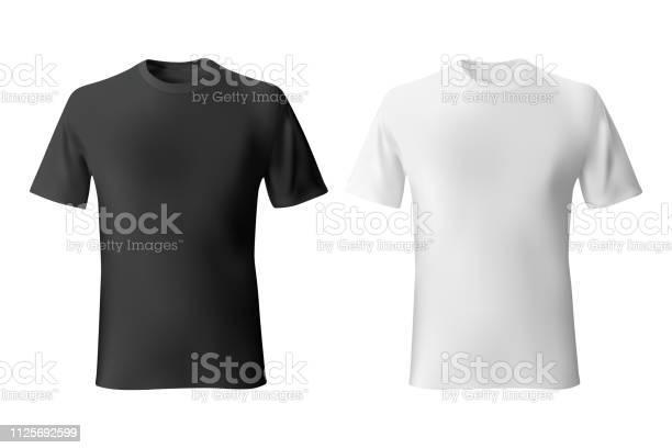 Black and white mens tshirt template realistic mockup vector id1125692599?b=1&k=6&m=1125692599&s=612x612&h=o9qef1adqxoojgktxrdlmb3jrt zjonmvcmvp3founm=