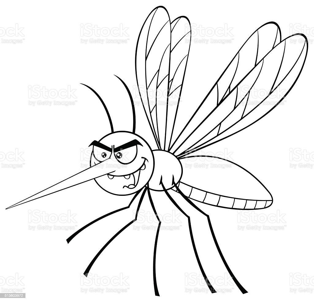 Zanzara Bianco E Nero Immagini Vettoriali Stock E Altre