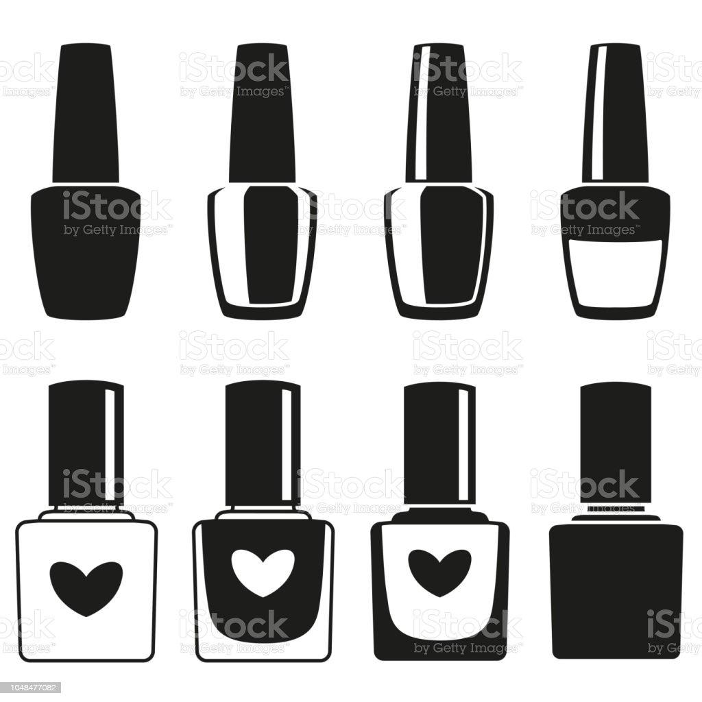 royalty free white nail polish clip art vector images