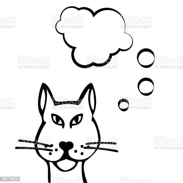 Black and white outlined cat illustration vector id961789224?b=1&k=6&m=961789224&s=612x612&h=nwv5l5b k1e2m6f1es03dyfleqsrjj2z2nplr3dyfko=