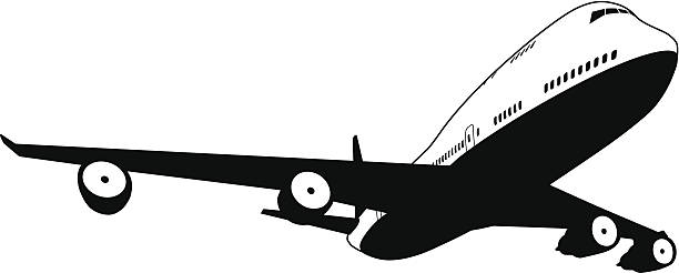 Best Boeing 747 Illustrations, Royalty-Free Vector