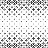 Black and white polygon pattern design background
