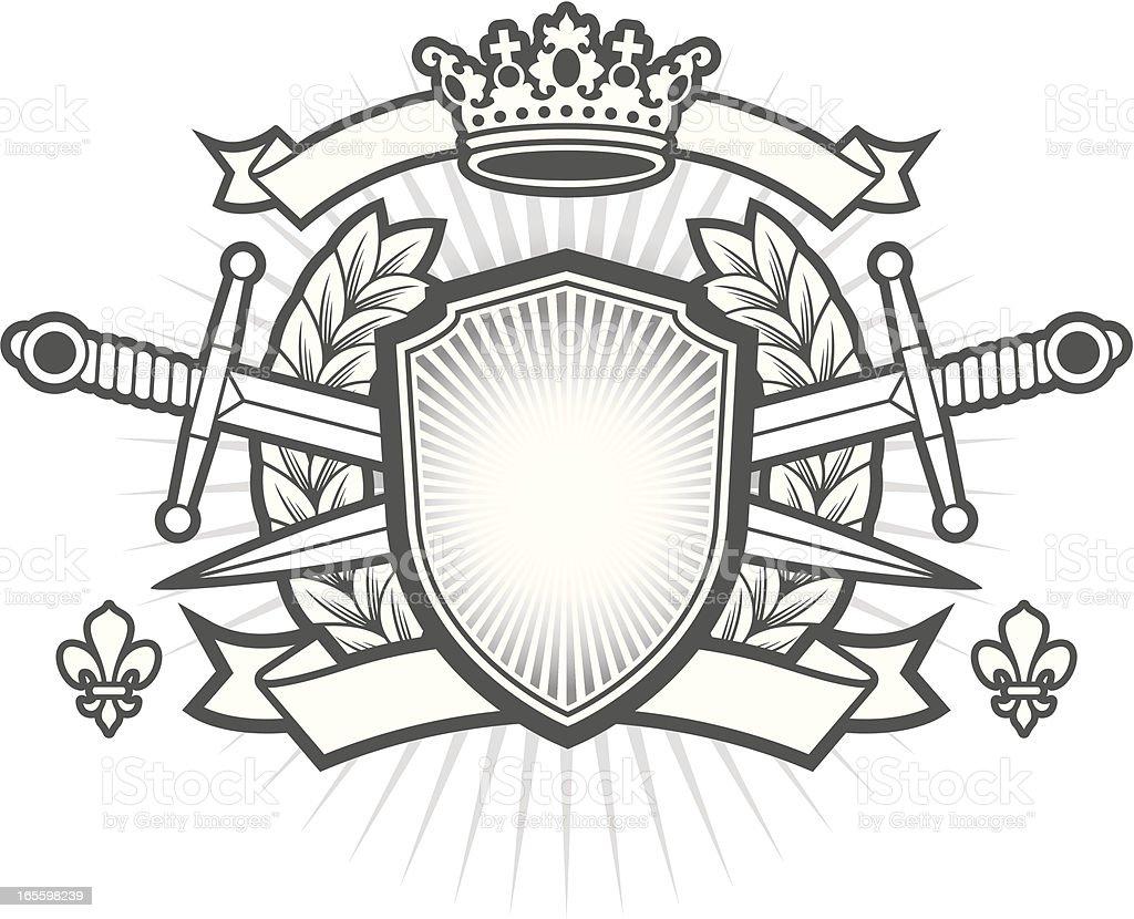 Heraldry cresta ilustración de heraldry cresta y más banco de imágenes de autoridad libre de derechos