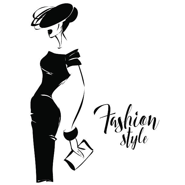Royalty Free Elegant Woman Clip Art, Vector Images