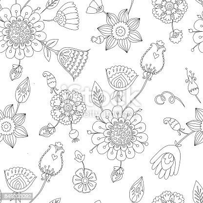 istock Vector abstracto de patrones sin fisuras de la silueta del búho ...