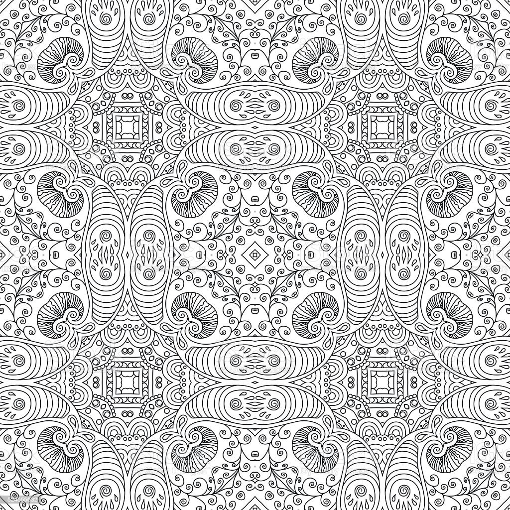 abstract abstract backgrounds backgrounds black color coloring book - Psychedelic Coloring Book