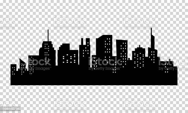 Black and white sihouette of big city skyline vector id594460794?b=1&k=6&m=594460794&s=612x612&h=anr4bas8f7klskdiejyc9mxyp3d9os22vcxfkuo itc=