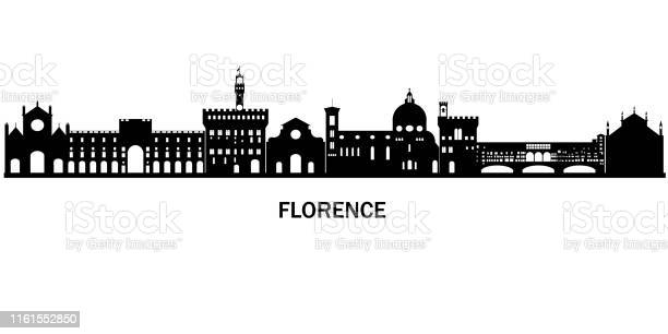 Black and white silhouette of mevieval old italyan city florence for vector id1161552850?b=1&k=6&m=1161552850&s=612x612&h=9ddmkafnriuxjklabdmwlz7daoarpedtbavpjd3nbsg=