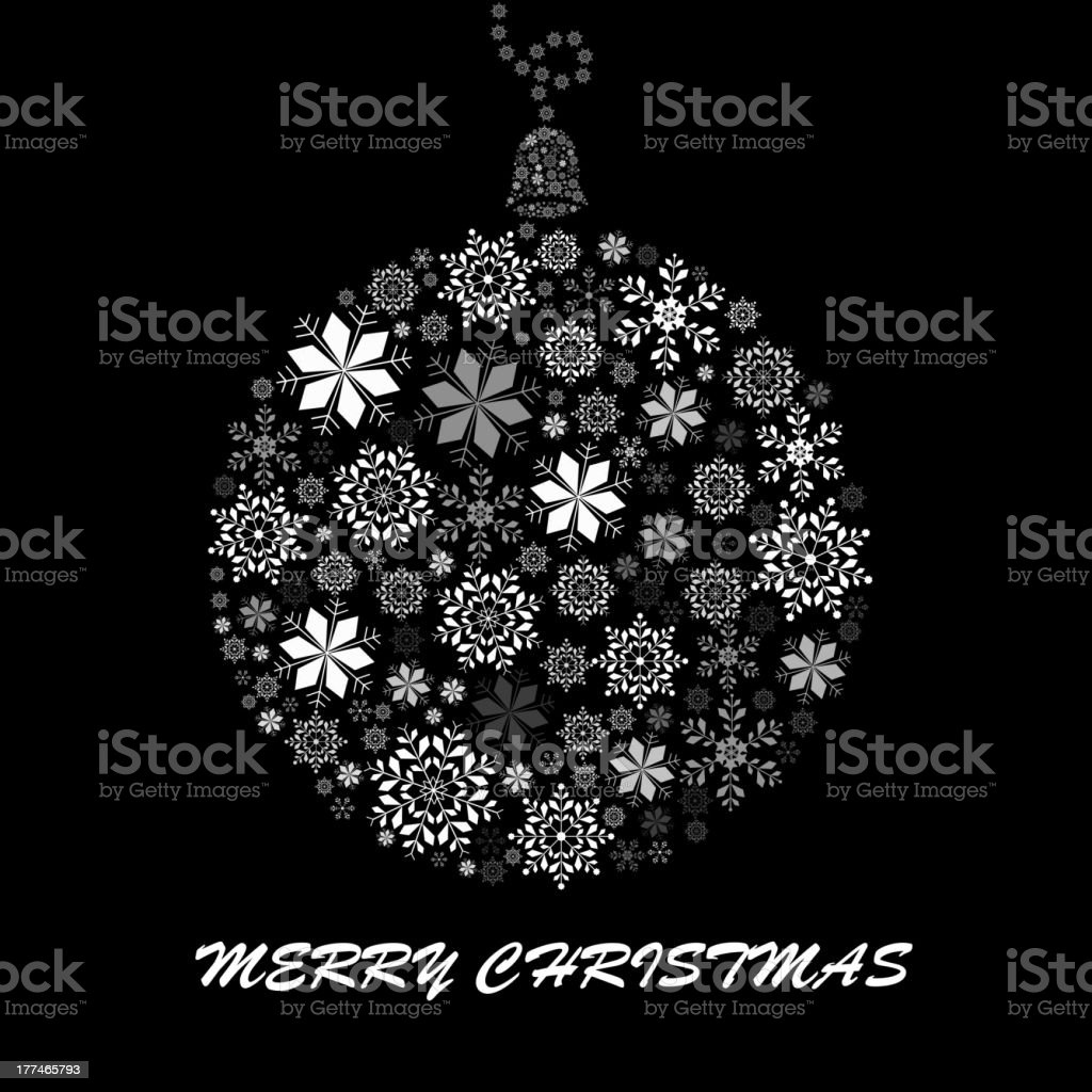 black and white snowflake ball royalty-free black and white snowflake ball stock vector art & more images of abstract