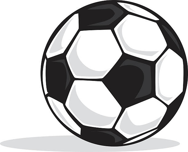 how to draw a cute cartoon soccer ball