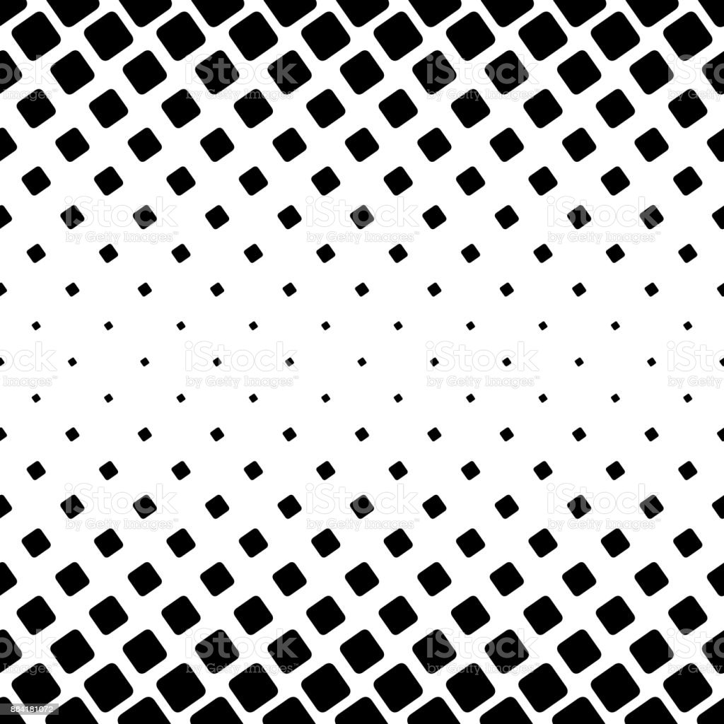 Black and white square pattern - geometric vector background design from angular rounded squares royalty-free black and white square pattern geometric vector background design from angular rounded squares stock vector art & more images of abstract