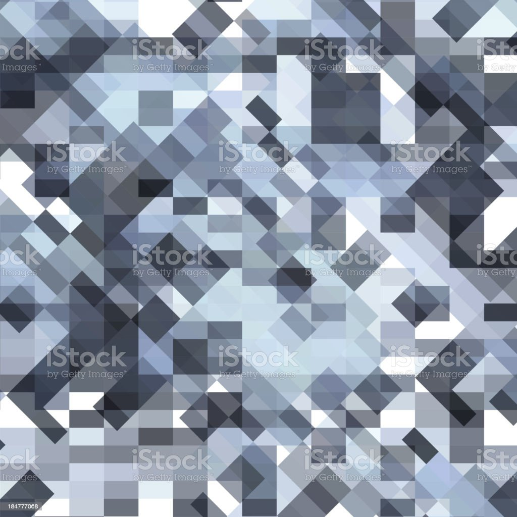 black and white squares royalty-free stock vector art