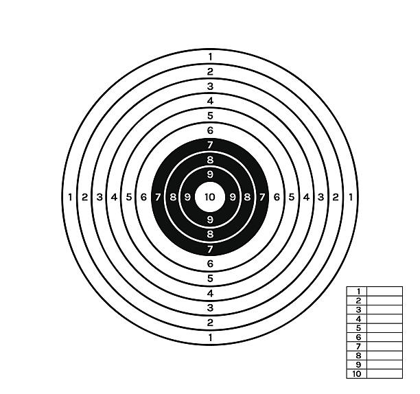 Royalty Free Target Shooting Clip Art, Vector Images ...